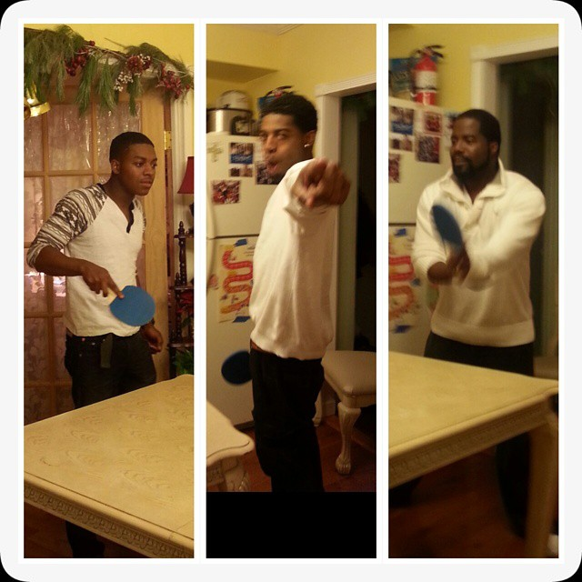 Battle of the Boys! Table tennis championship.