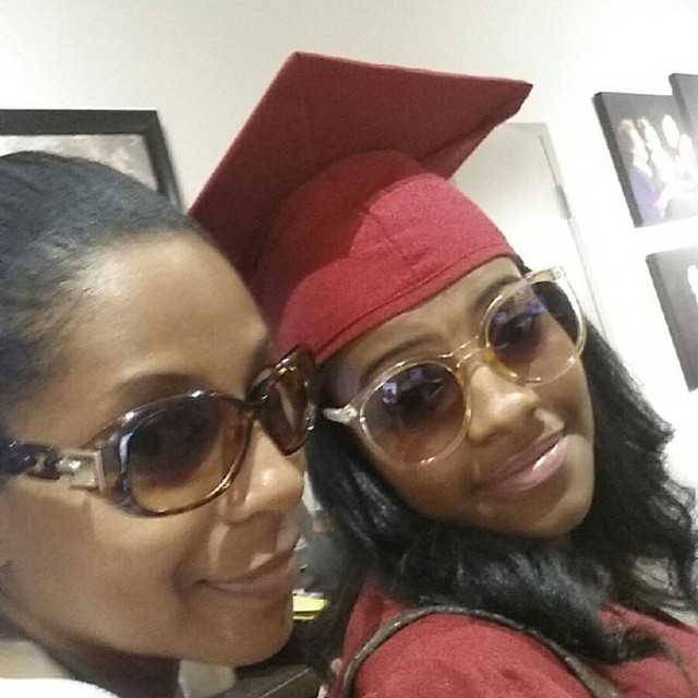 Graduation glam with my Angel