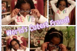 World's Cutest Fraud!