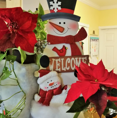 Snowman Welcome