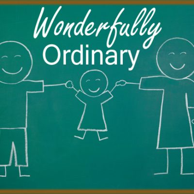 "Why Being ""Ordinary"" Is the New Extraordinary"