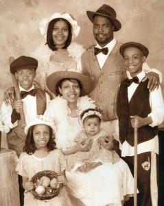 Little House Family Photo