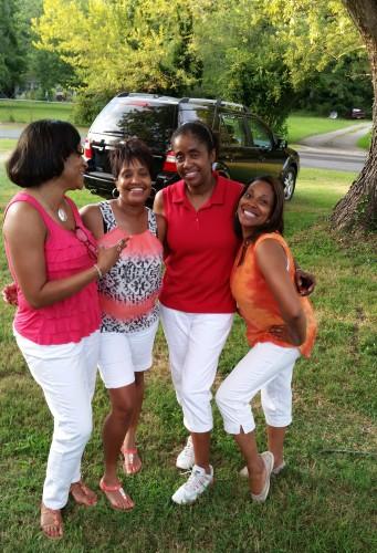 Me, Monique, Teresa and Jackie