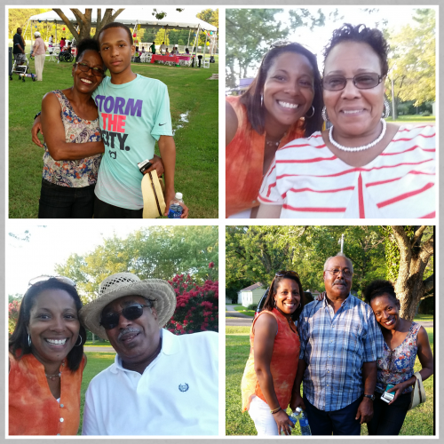 family collage - Maryland