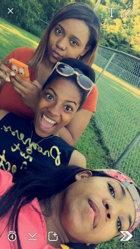 girl's selfie