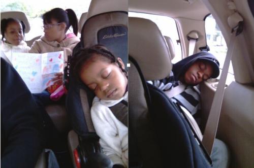 sleep in the car 2010