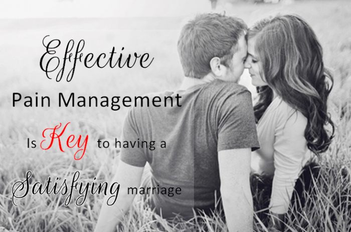 effective pain management is key to having a satisfying marriage
